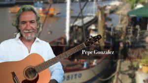 Taiteiden yön kunniaksi Svarten kannella upea Pepe Gonzalez 15.8.19 klo 19