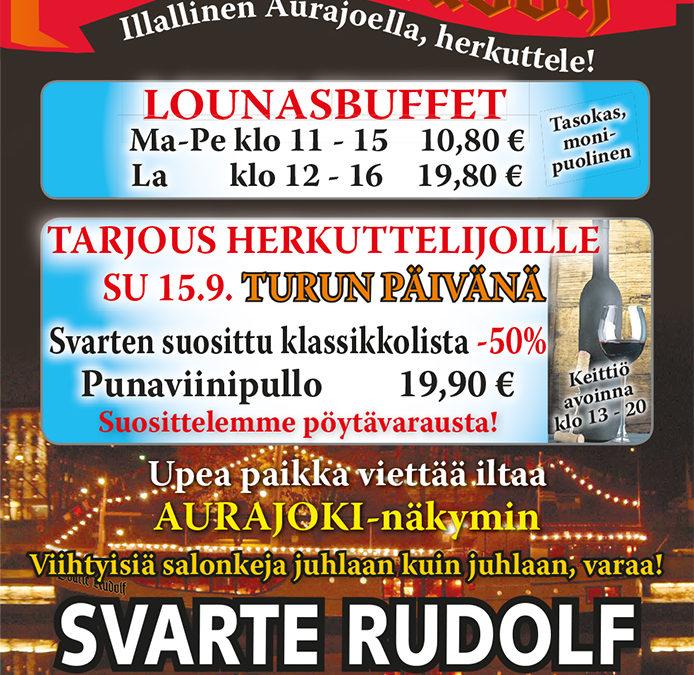 Turun päivän tarjous 15.9.